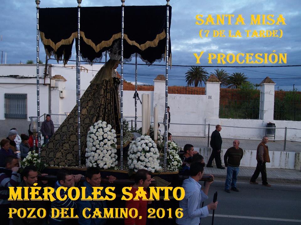 Horarios de la Semana Santa 2016 de Pozo del Camino