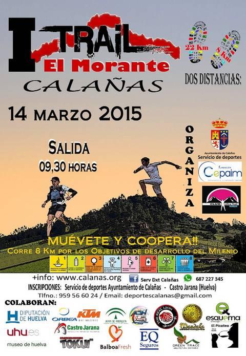 Manuel Romero e Isabel Carrillo Ganan el II Trail El Morante de Calañas
