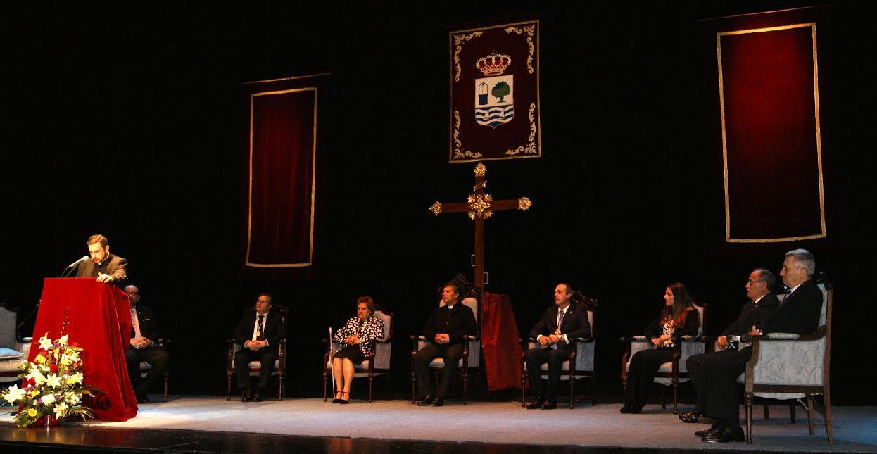 El Rvdo. Párroco Carlos Javier Rodríguez Parra pregona la Semana Santa isleña