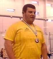 Ricardo Orta de Isla Cristina en el XXIX Campeonato de España Cadete de Atletismo en Pista Cubierta
