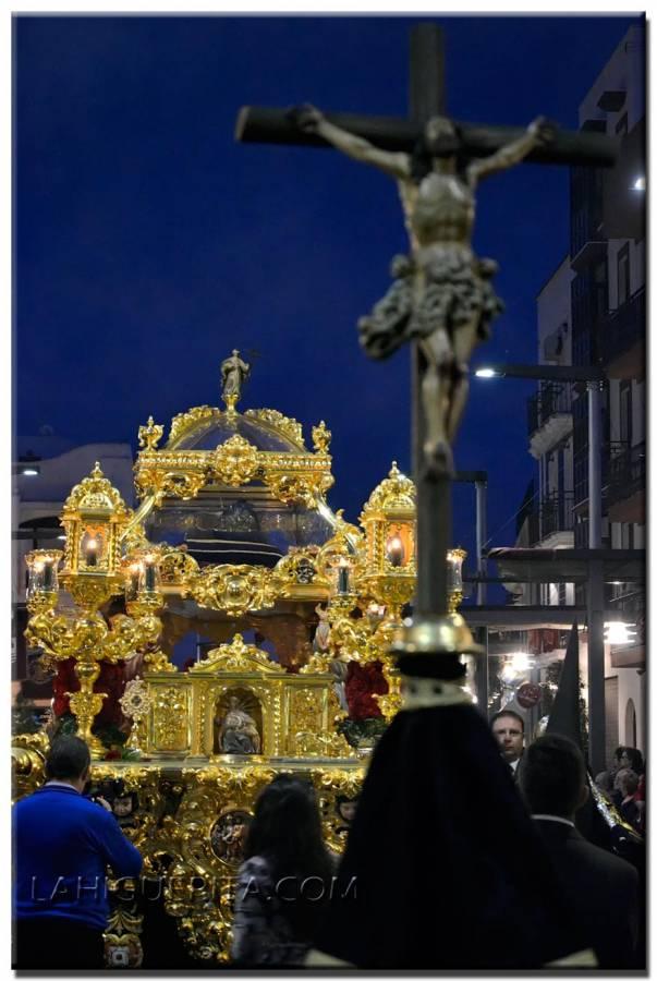 Recorrido procesional de la Hermandad del Santo Entierro 2016