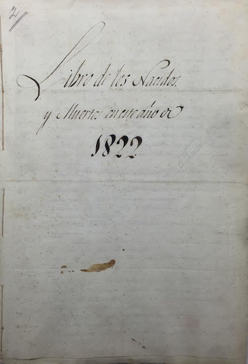 Documento del Mes de abril expuesto en la Biblioteca Municipal de Isla Cristina