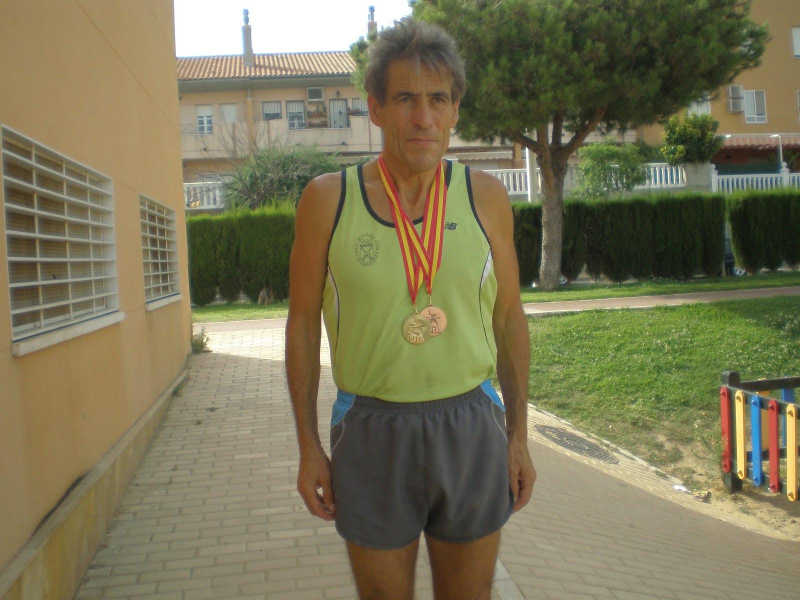 "Antonio Librero Moguer ""Atleta en Infinito Sendero de Gloria"""