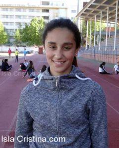 Reto de podio para la Atleta Lucía García Fábregas
