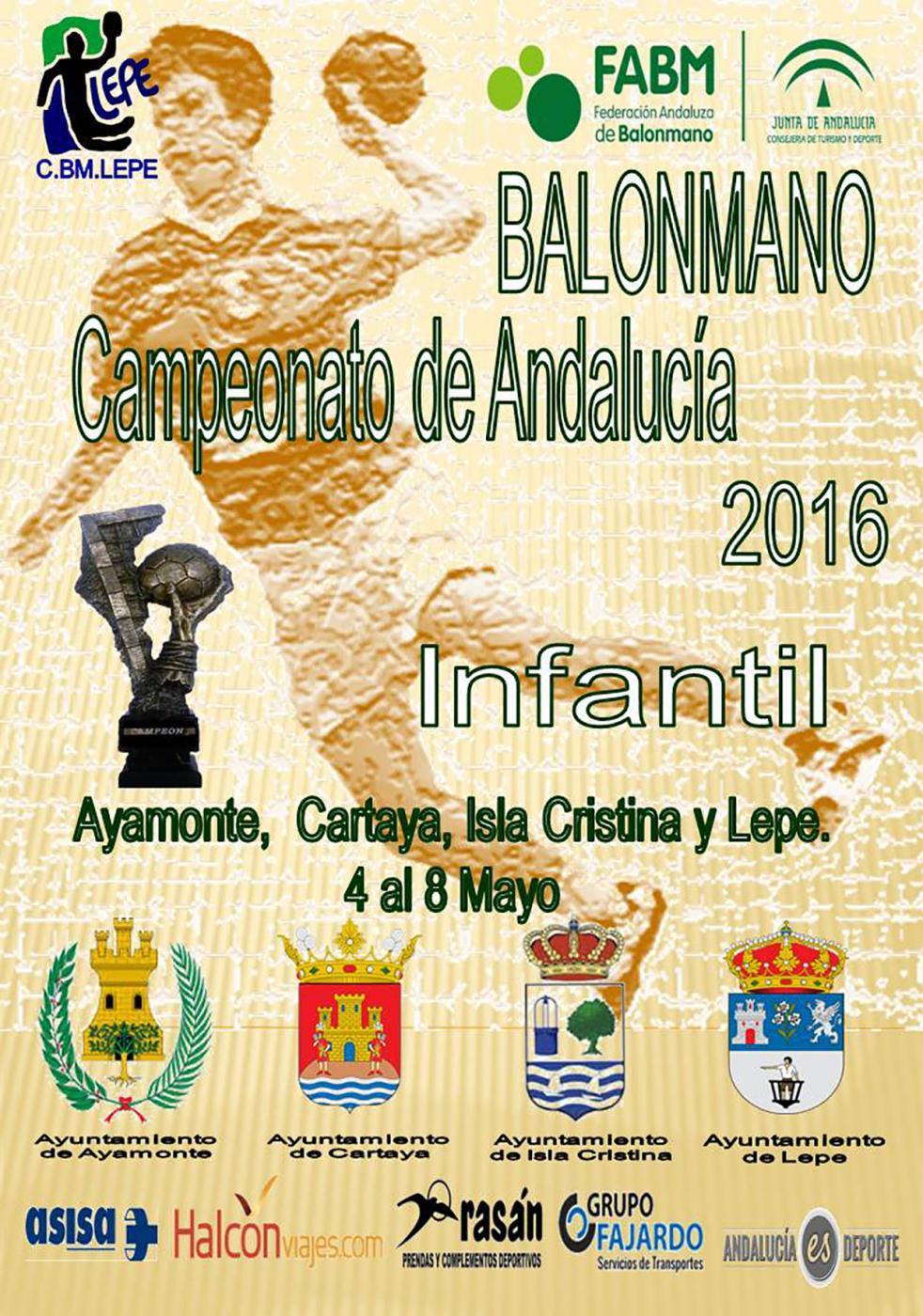 Isla Cristina acogerá el Andaluz Infantil de Balonmano