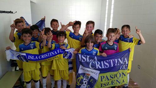 El Benjamín B del Isla Cristina Campeones de la Tercera Andaluza