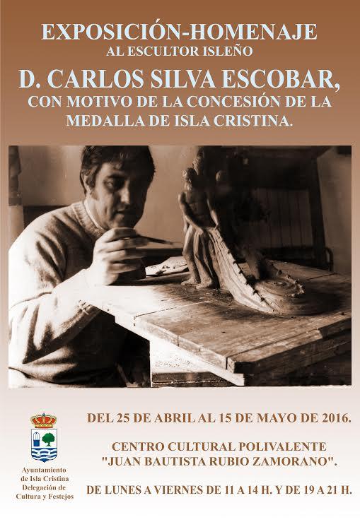 Exposición de Carlos Silva con motivo de la concesión de la Medalla de la Ciudad al artista isleño