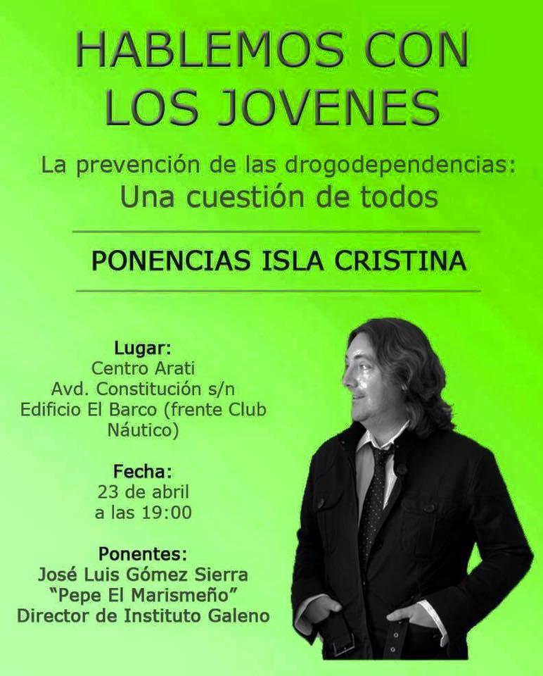 Pepe el Marismeño ofrece una conferencia en el Centro ARATI de Isla Cristina