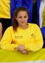 La atleta isleña Inés Sequera compite en el Nacional que se celebra en León