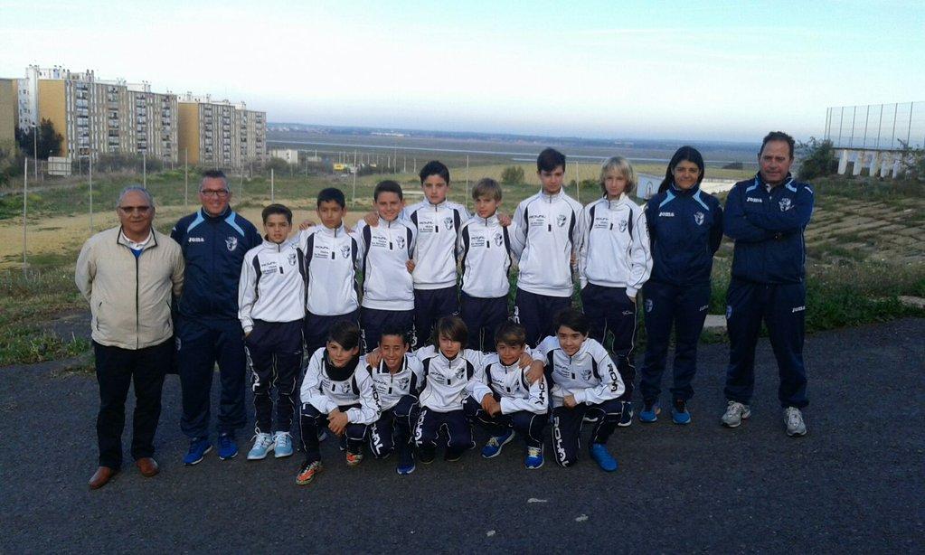 La Selección Onubense rumbo al Andaluz Alevín de fútbol-8