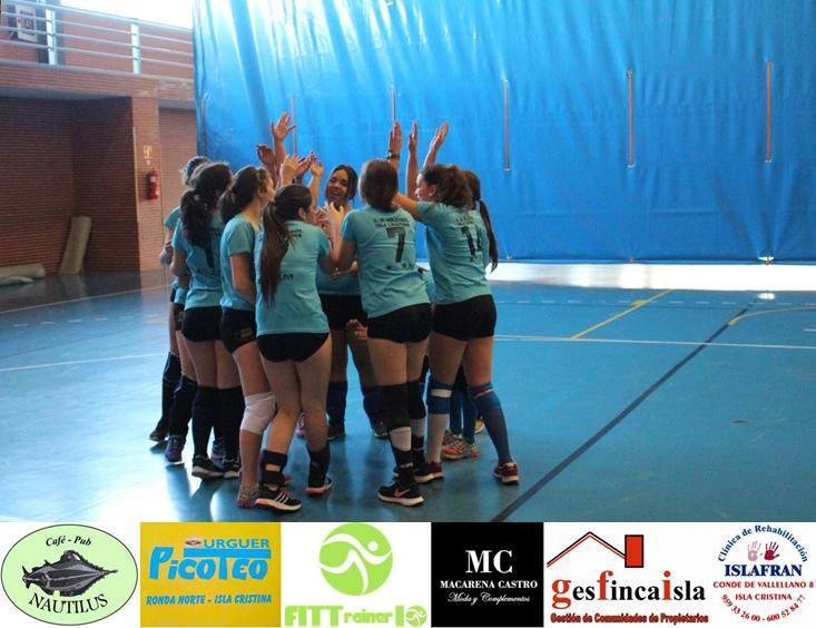 El Voleibol Isla Cristina Vic Juvenil, Jugara la Fase Final