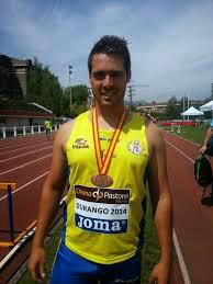 Silva y el isleño Antonio Palma compiten en el Campeonato de Andalucía de Atletismo