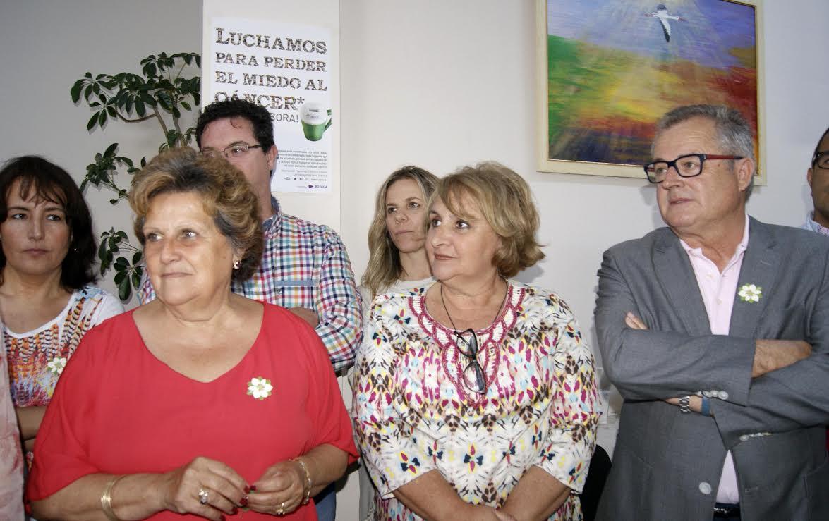 Antonia Grao, Teresa Gonzalez y Rafael Lopez