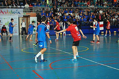 El Colegio Maravillas y Cajasur Campeones de Andalucía de balonmano Infantil