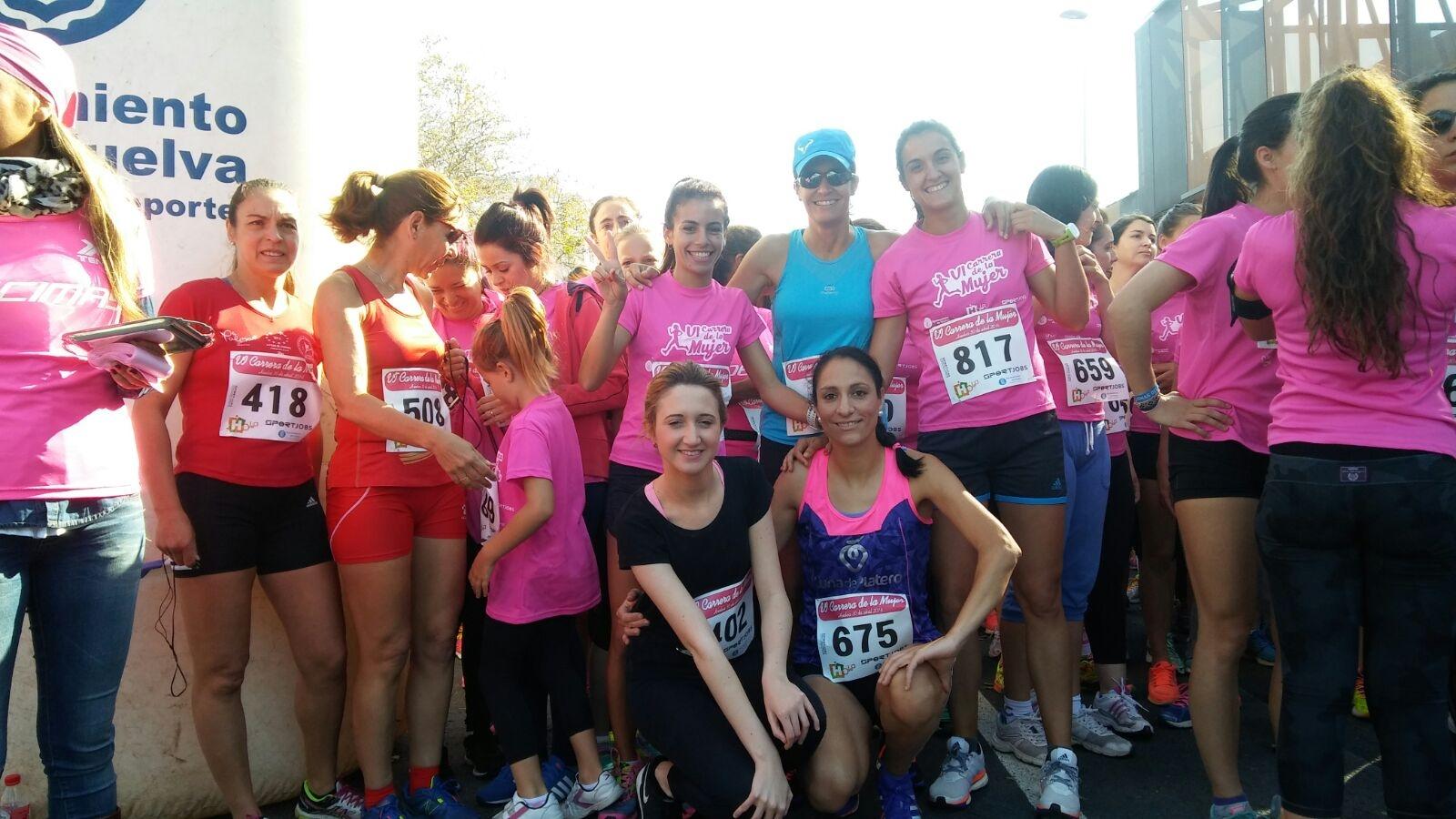 Lidia Rodríguez Primera en la VI Carrera de la Mujer de Huelva