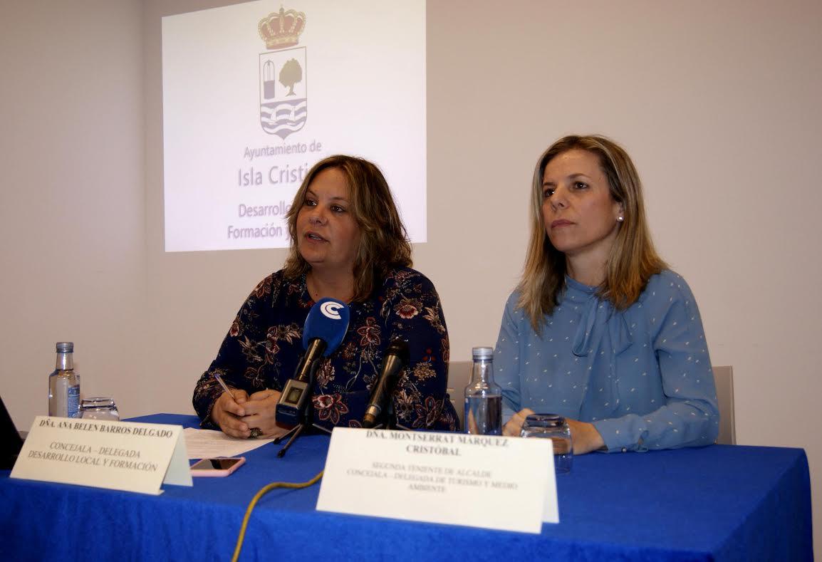 Montserrat Marquez  y Ana Belén Barros