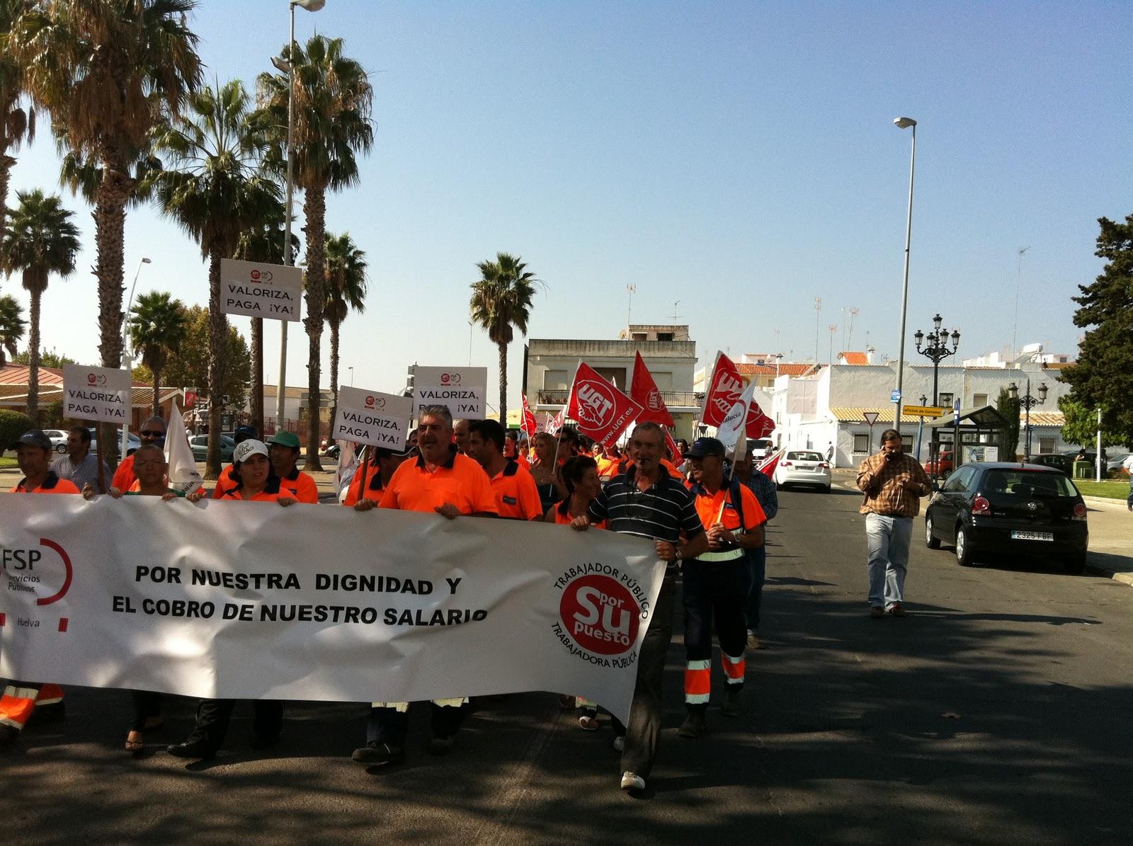 Trabajadores de la limpieza viaria de Isla Cristina inician acciones legales con huelga indefinida incluida