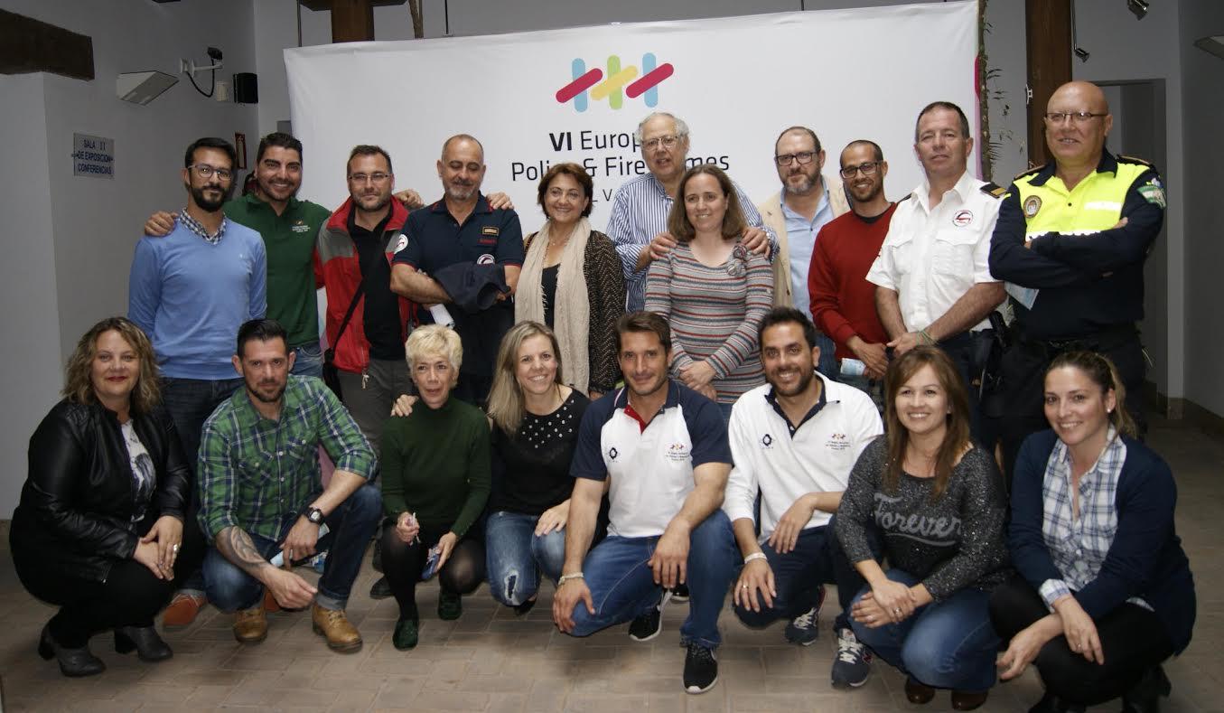 Isla Cristina en los juegos europeos policias y bomberos