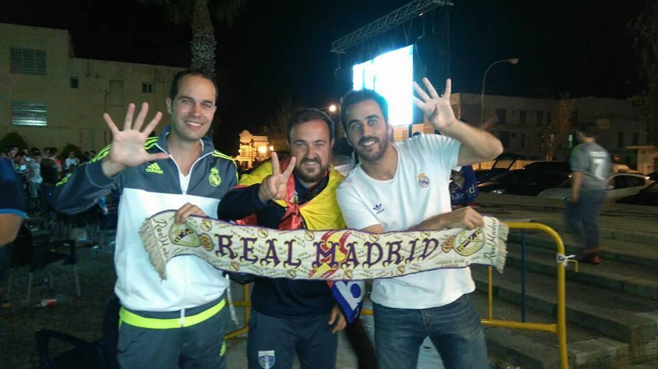Isla Cristina celebra la Champions del Real Madrid