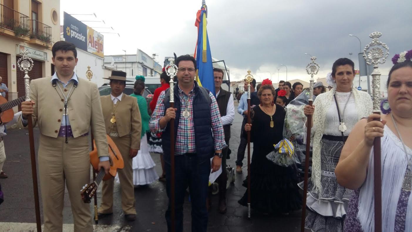 Isla Cristina, en la Ofrenda de Flores a la Virgen de la Bella, Patrona de Lepe