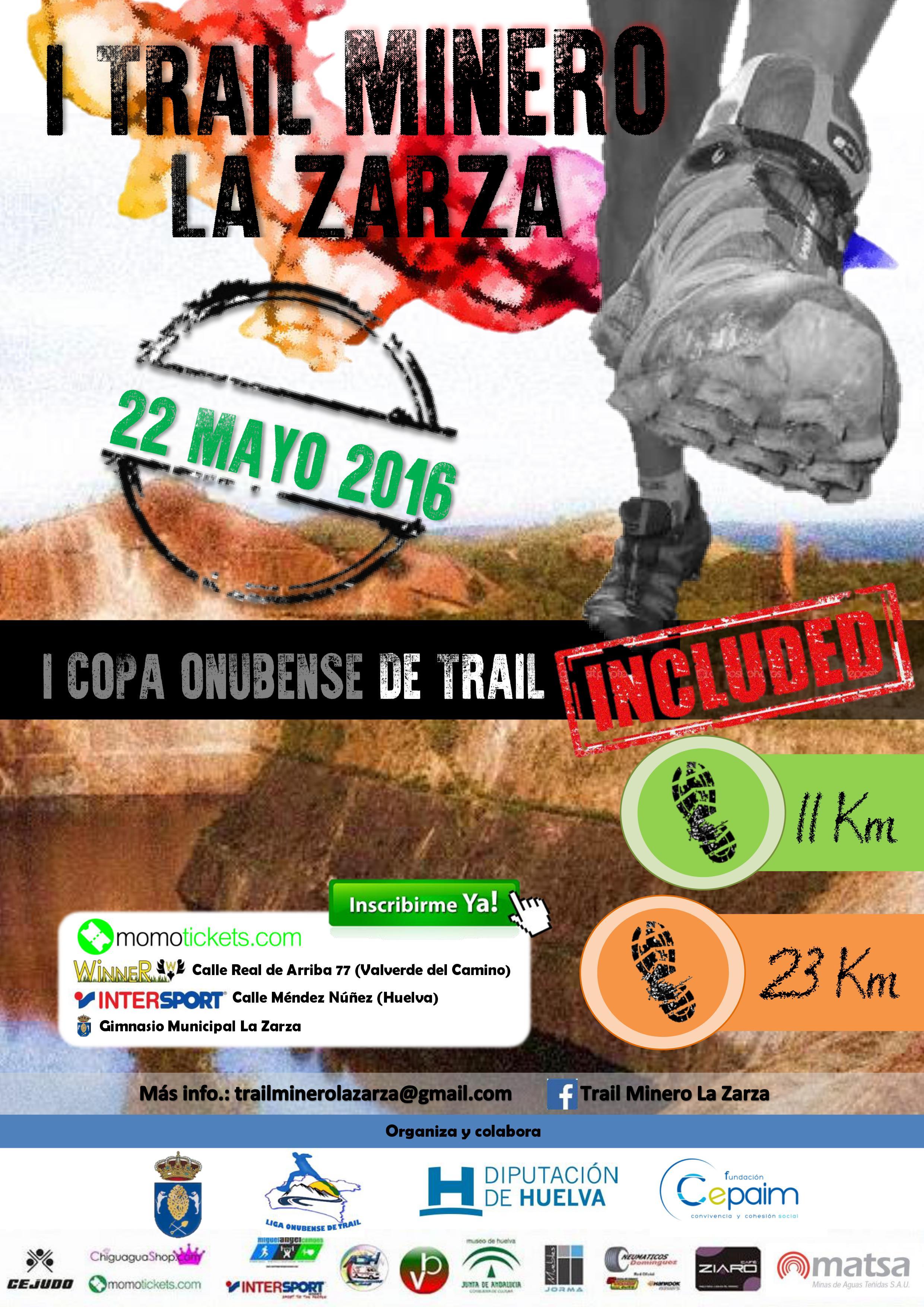 I Trail Minero de La Zarza / I Copa Onubense de Trail