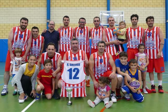 El Viejunos Club Campeón de la III Liga de Veteranos de Baloncesto
