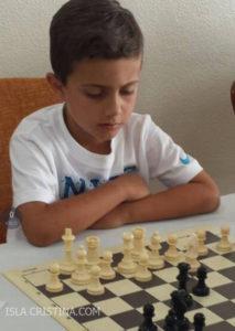 El isleño Kevin Irala Alonso, Subcampeón del IV Torneo de Ajedrez Sociedad Casino de Rociana