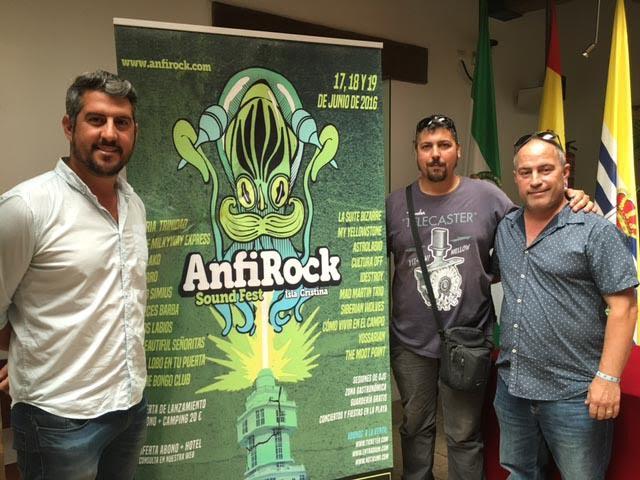 El Ayuntamiento y la Asociación CostaLuz Fest dan a conocer el cartel del Anfirock Sound Fest Isla Cristina 2016
