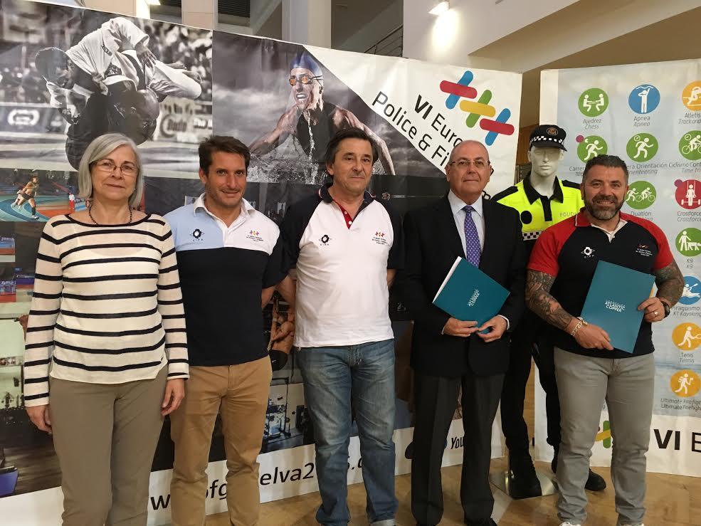 Atlantic Copper sella su apoyo al europeo de Policías y Bomberos de Huelva