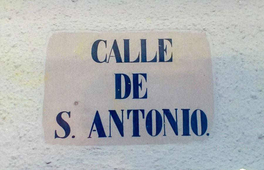 calle san antonio