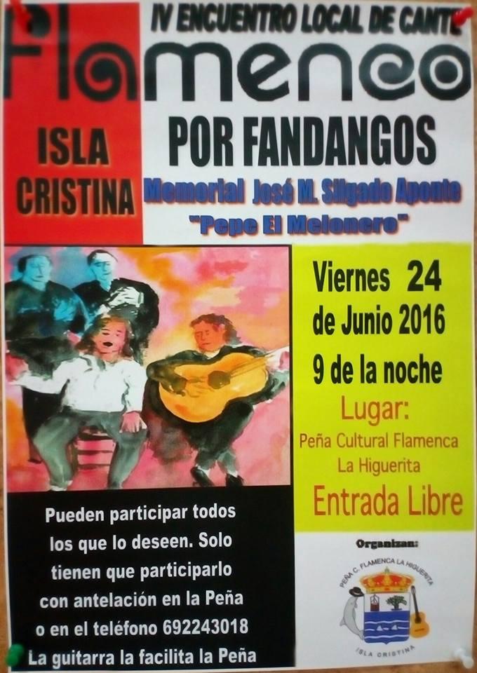 IV Encuentro de Cante Flamenco