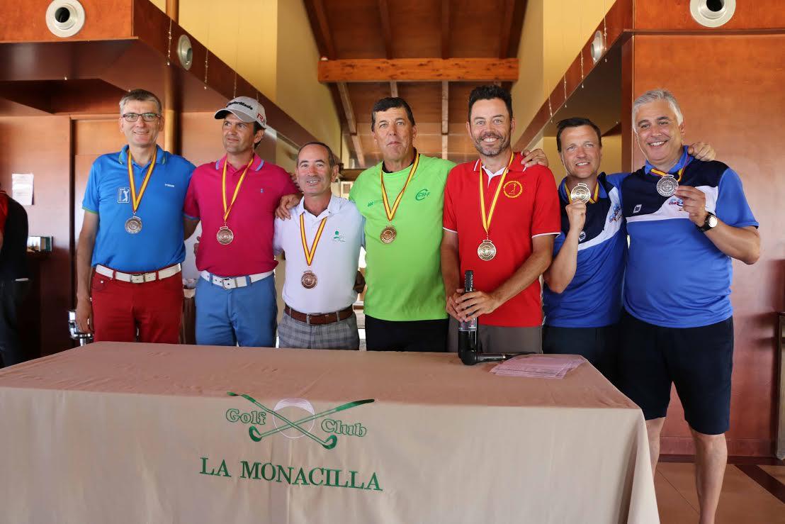 golf campeones