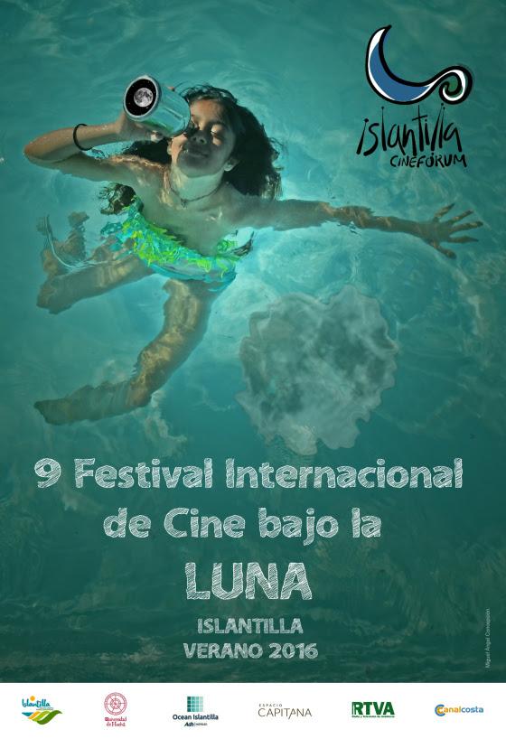 El Cartel del Festival Internacional de Cine de Islantilla Obra de Miguel Ángel Concepción