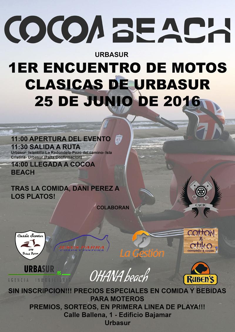 1º Encuentro de Motos Clásicas de Urbasur