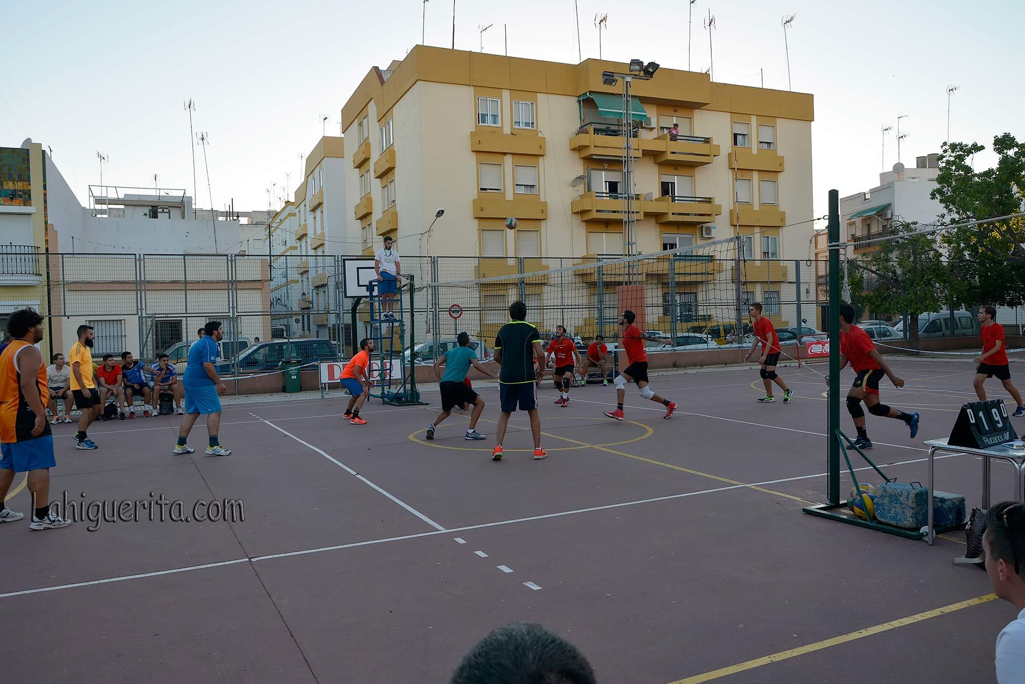 "Este lunes quinta jornada del XXIII Torneo de Voleibol ""Periódico La Higuerita"""
