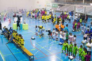 Más de 1500 jugadores en el VII Torneo de fútbol sala 'Buscamos una estrella'