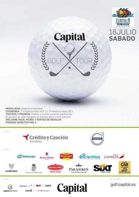 "Islantilla acoge este sábado ""El Capital Golf Tour"""