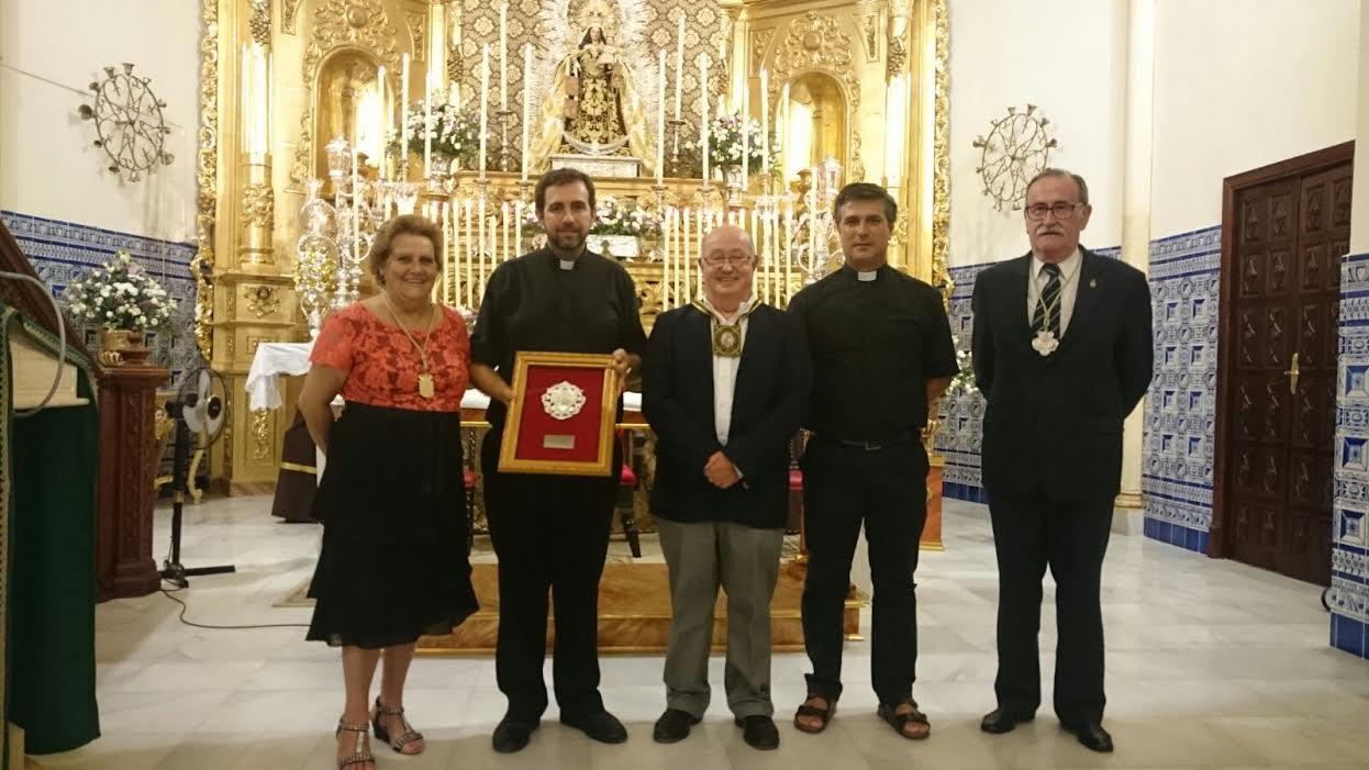 El Rvdo Párroco Carlos Javier Rodríguez Parra exalta a la Virgen del Carmen en Isla Cristina