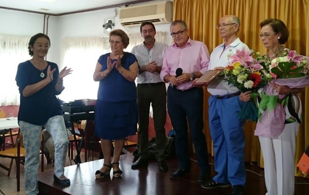 El Centro de Participación Activa de Mayores rinde homenaje a su Socio Marinero en las Fiestas del Carmen