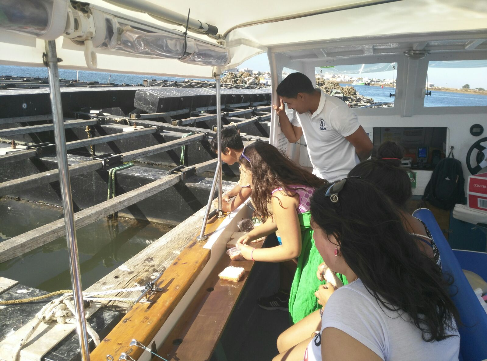 excursion barco