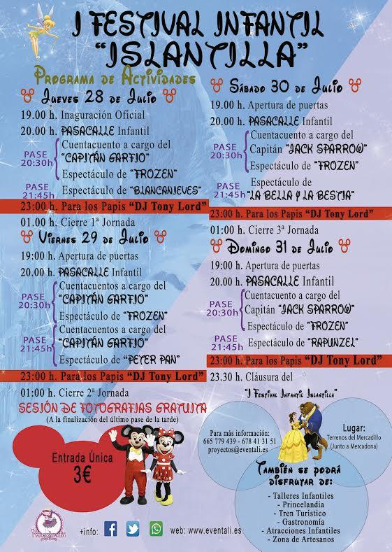 Presentación del Primer Festival Infantil de Islantilla
