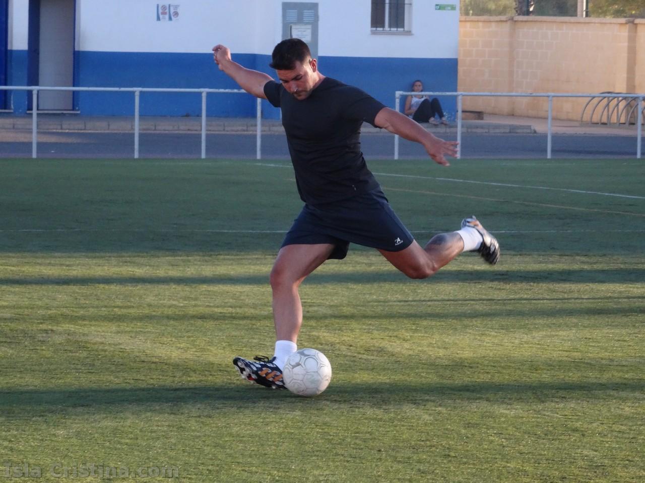 Festival de goles en el Campeonato de Verano de fútbol 7 en Isla Cristina
