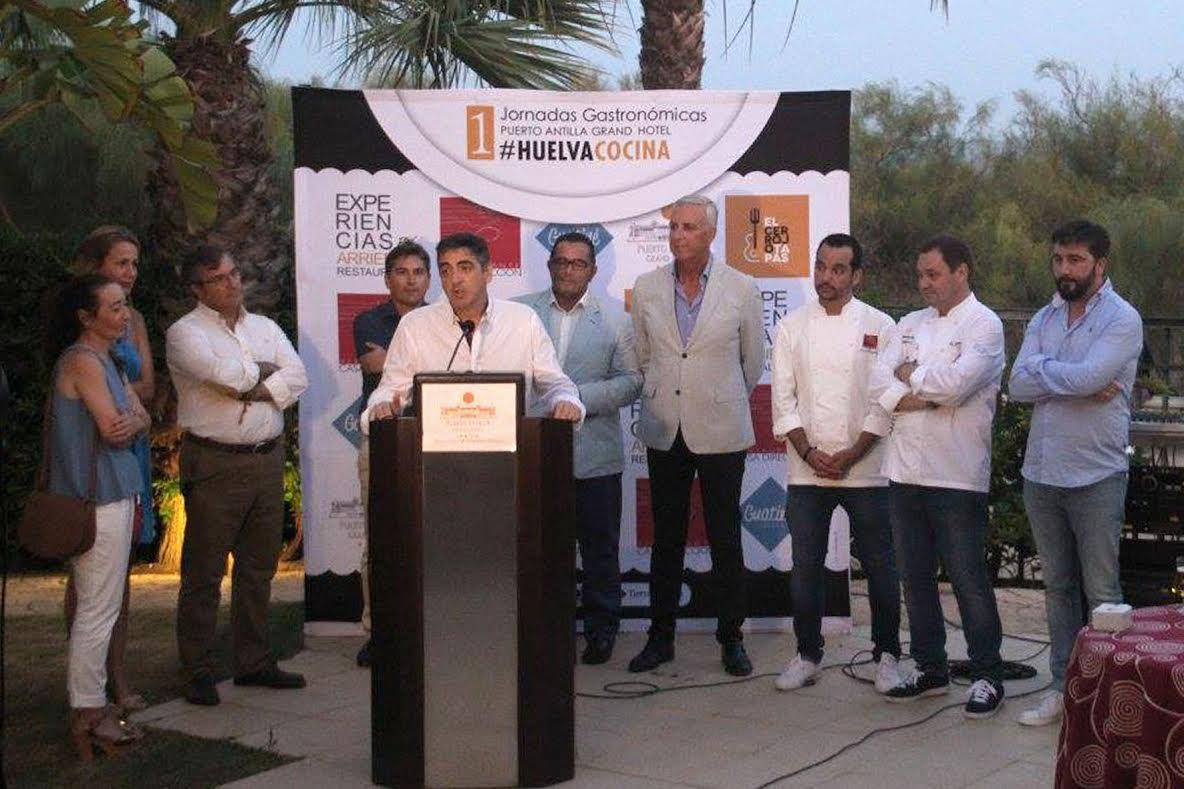 Las Jornadas Gastronómicas 'Huelva Cocina' de Puerto Antilla Grand Hotel traen hasta Islantilla el sabor de la Sierra