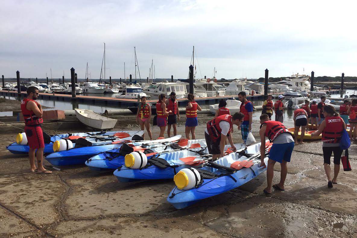 Mancomunidad organiza jornadas gratuitas de iniciación al paddle surf y al kaya a través de las redes sociales