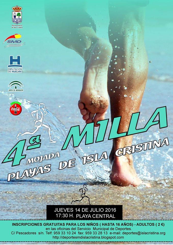 IV Milla Mojada Playas de Isla Cristina