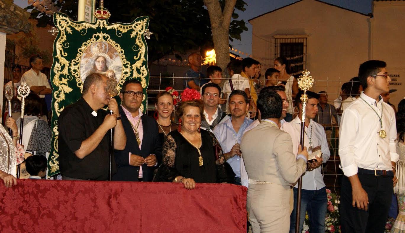 Tradicional Ofrenda de Flores a la Virgen de la Esperanza de la Redondela con motivo de la celebración de la Romería en su Honor