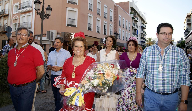 Ofrenda floral Virgen del Carmen