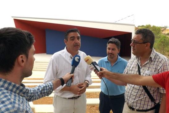 Visita oficial a las obras de la primera actuación del Parque 'El Camaleón'