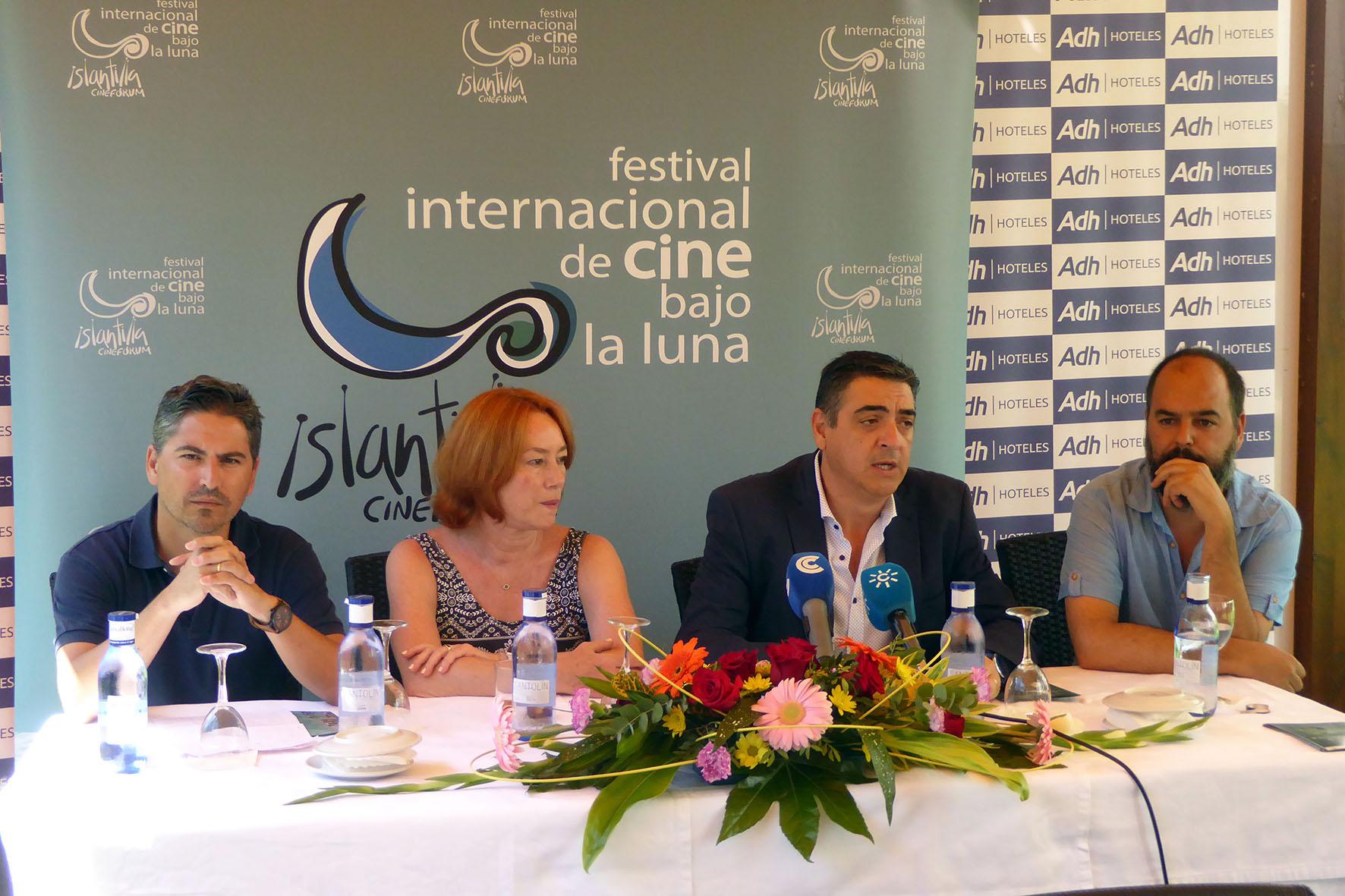 Rueda de Prensa de Gracia Querejeta Premio UHU 'Francisco Elías' Islantilla Cinefórum