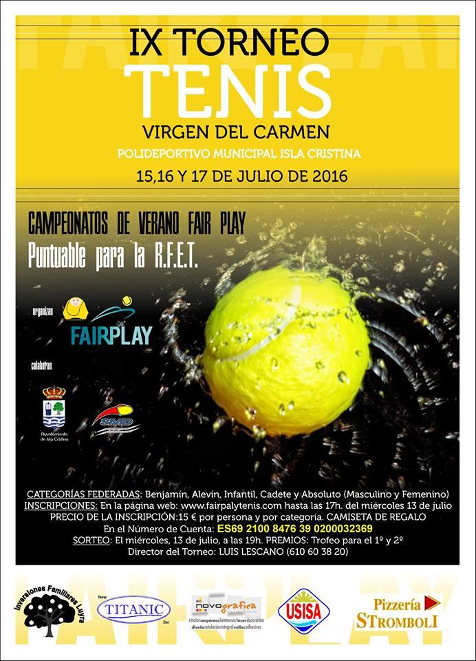 Programación para hoy viernes en las Fiestas del Carmen de Isla Cristina